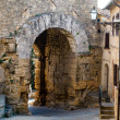 Ancient Etruscan Gate of Volterra in Italy — 图库照片
