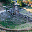 Постер, плакат: Ancient Roman Theatre of Volterra in Tuscany Italy