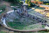 Ancient Roman Theatre of Volterra in Tuscany, Italy — Stock Photo