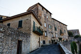 Medieval Street in the Town of Volterra in Tuscany, Italy — Stock Photo