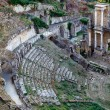 Ancient Roman Theatre of Volterra in Tuscany, Italy — Foto de Stock