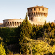 Medici Castle in the Park in Volterra, Tuscany, Italy — Stock Photo