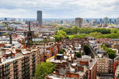 Aerial View from Westminster Cathedral on Roofs and Houses of Lo — Stock Photo