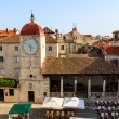 The Bell Tower in the Center of Trogir, Croatia — Stock Photo