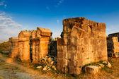 Roman Amphitheatre ruinas de la antigua ciudad de salona cerca de split — Foto de Stock