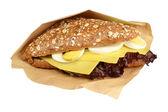 Sandwich cheese. — Stock Photo