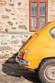 Un coche de época yugoslavo — Foto de Stock