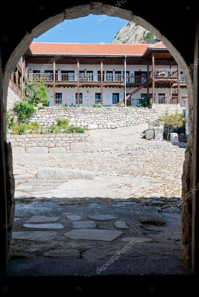 The Treskavec Monastery in Republic of Macedonia — Stock Photo #10744809
