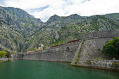 Fortress in Kotor — Stock Photo