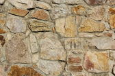 Big stones wall texture — Stock Photo