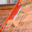 Stock Photo: Damaged roof