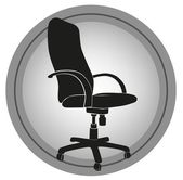 Office chair — Stock Vector