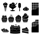 Sweets — Stock Vector