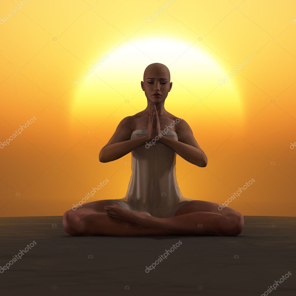 Yoga meditation — Stock Photo #11366686
