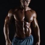 Muscular male bodybuilder — Stock Photo