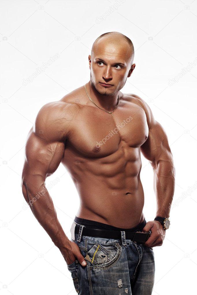 Muscular male bodybuilder stock photo 169 salagatoxic 11985295