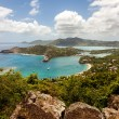 English Harbour Nelson's Dockyard Antigua Caribbean Tropical Lan — Stock Photo