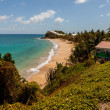 Stock Photo: Beautiful Sunny Tropical CaribbeBeach Landscape Seascape Carl