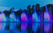 Singing fountain — Stock Photo