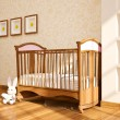 Minimal modern interior of nursery. — Stock Photo
