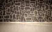 Wall panels used as background. — Stock Photo