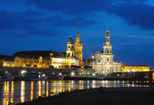 Night Dresden. — Stock Photo