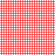 Stock Photo: Red and white checkered pattern