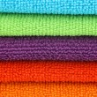 Background microfiber cleaning cloths — Stock Photo #11350402