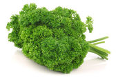 Bundle of fresh parsley — Foto Stock