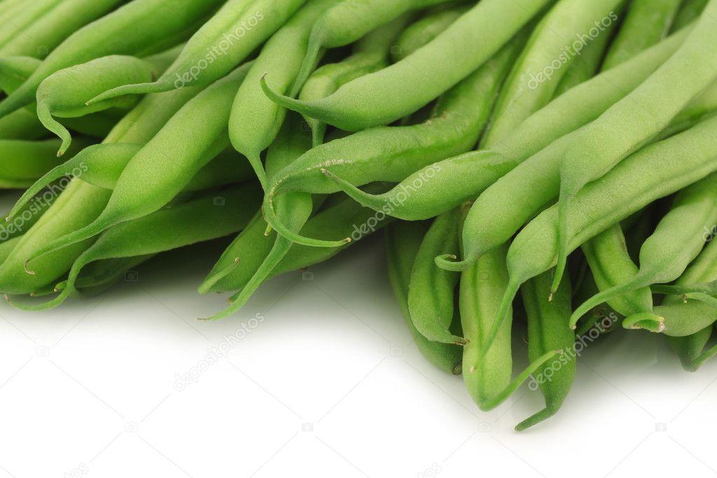 Haricot Vert Beans Beans Haricot Vert on a