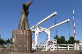 """Statue of """"Het vrouwtje van Stavoren"""" — Foto de Stock"""