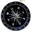 Stock Photo: Basic compass