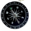 Basic compass — Stock Photo