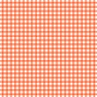 Stock Photo: Orange and white checkered pattern