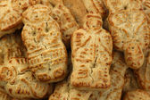 "Dutch traditional cookies called ""taai taai"" — Stock Photo"