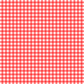 Red and white checkered pattern — Stock Photo