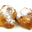 "Traditional pastry from Holland eaten at new year's eve called""oliebollen"" — Stock Photo #11910207"