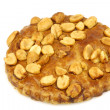 Peanut cookie — Stock Photo