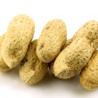 A bunch of fresh roasted peanuts — Stock Photo
