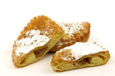 "Traditional pastry from Holland eaten at new year's eve called""applebeignet"" — Stock Photo"