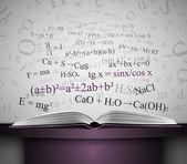 книга знаний — Cтоковый вектор