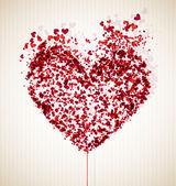 Vulnerable heart — Stock Vector