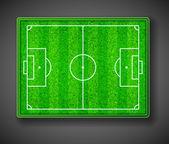 Soccer stadium — Stock vektor