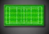 Rugby stadium — Stock Vector