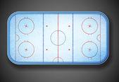 Hockey stadium — Stock Vector
