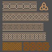 кельтские узлы — Cтоковый вектор