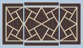 Syrian seamless ornament — Stock Vector