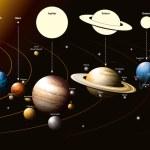 Solar system — Stock Vector #11484017