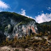 Montaña en tropoja, albania — Foto de Stock