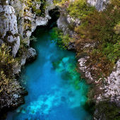 Valbona River in Albania — Stockfoto